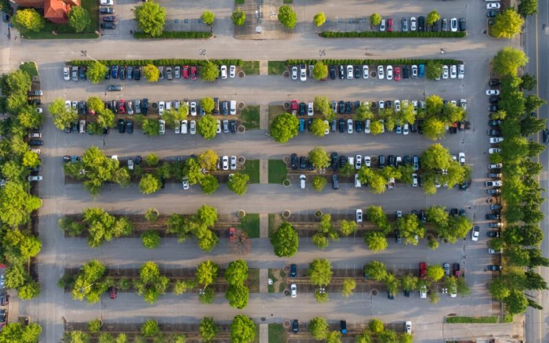 commercial-property-mangement-parking-lot-overhead-view